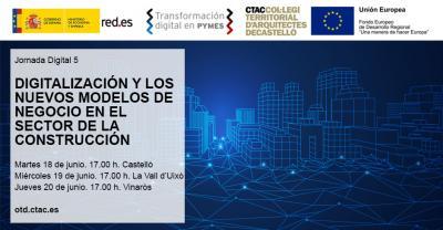 Digitalización y los nuevos modelos de negocio en el sector de la construcción. Castelló