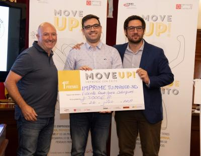 Vicente Rodríguez, primer premio de Move Up! 2019