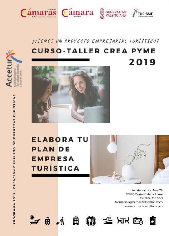 Taller crea Pyme: Tu plan de empresa turística