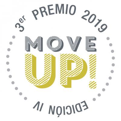 SELLO GANADOR 3ER PREMIO IV MOVE UP!