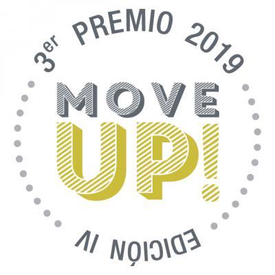 SELLO GANADOR 3ER PREMIO IV MOVE UP!