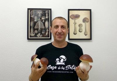 Pablo Martínez, creador de La Casa de las Setas