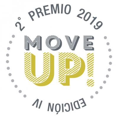 SELLO GANADOR 2ª PREMIO MOVE UP IV EDICIÓN