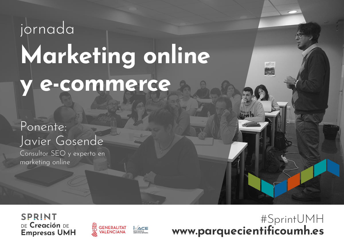 Marketing online y e-commerce de la mano de Javier Gosende