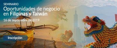 Oportunidades de negocio en Filipinas y Taiwán