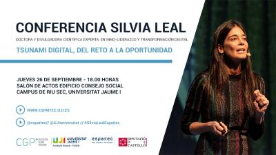«Tsunami digital, del reto a la oportunidad», Silvia Leal