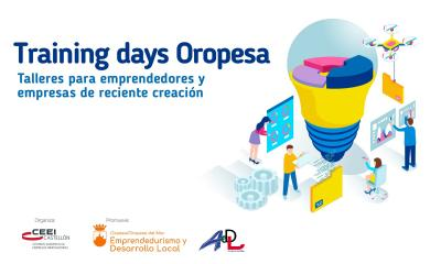 Training days Oropesa 2019-20