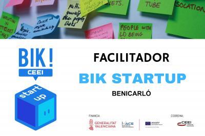 Sesión Facilitadores BIK STARTUP en Benicarló