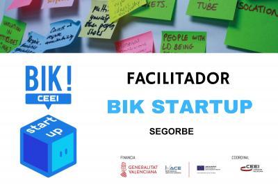Sesión Facilitadores BIK STARTUP en Segorbe