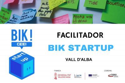 Sesión Facilitadores BIK STARTUP en Vall D'Alba