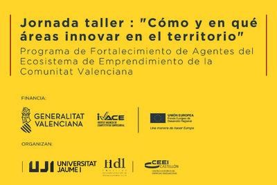 """Jornada taller : """"Cómo y en qué áreas innovar en el territorio"""""""