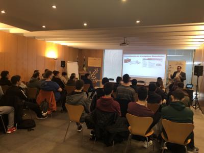 CEEI Castellón apuesta por el talento tecnológico con los alumnos del IES Caminàs