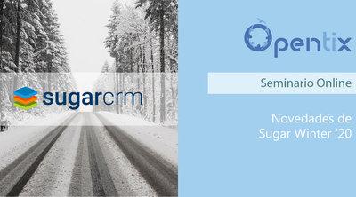 Novedades de SugarCRM Winter '20