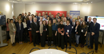Members of the MED Blue Growth projects, associated partners and relevant stakeholders