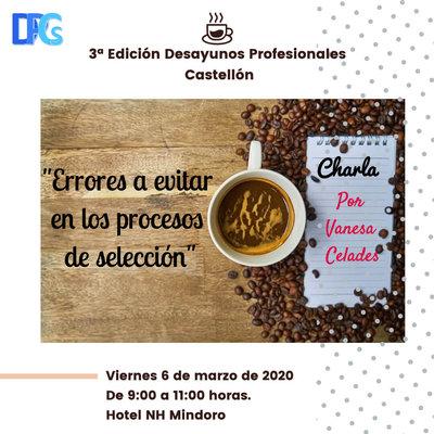 3ª edición de los Desayunos Profesionales Castellón