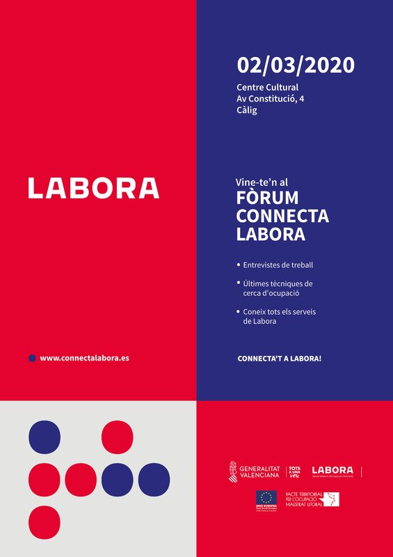 foro connecta labora Càlig
