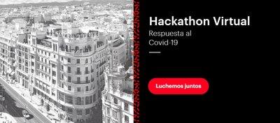 Hackathon on-line organizado por la Comunidad de Madrid denominado #VenceAlVirus