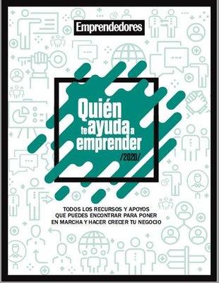 """CEEI Castellón en la """"Guía quien te ayuda a emprender - 2020"""" de Emprendedores"""