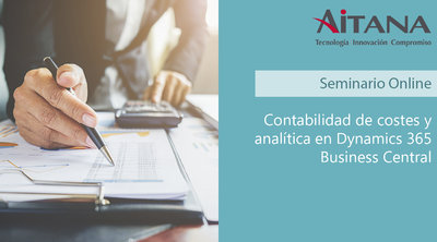 Webinar Contabilidad y analítica en Business Central