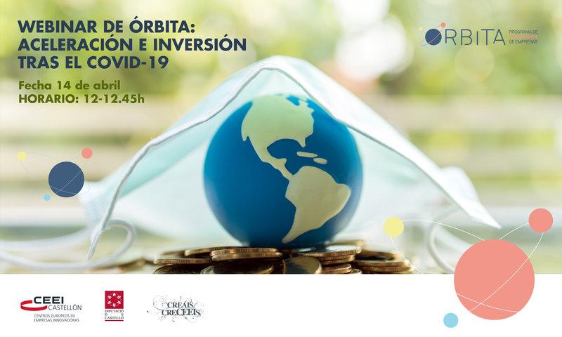"""Invitación Webinar: """"Aceleración e inversión tras el Covid-19"""" con Mathieu Carenzo"""