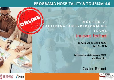 Programa 2º módulo CdT: Building High-Performing Teams