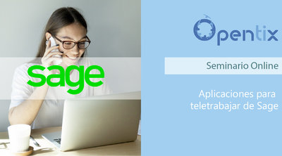 Webinar Aplicaciones para teletrabajar de Sage