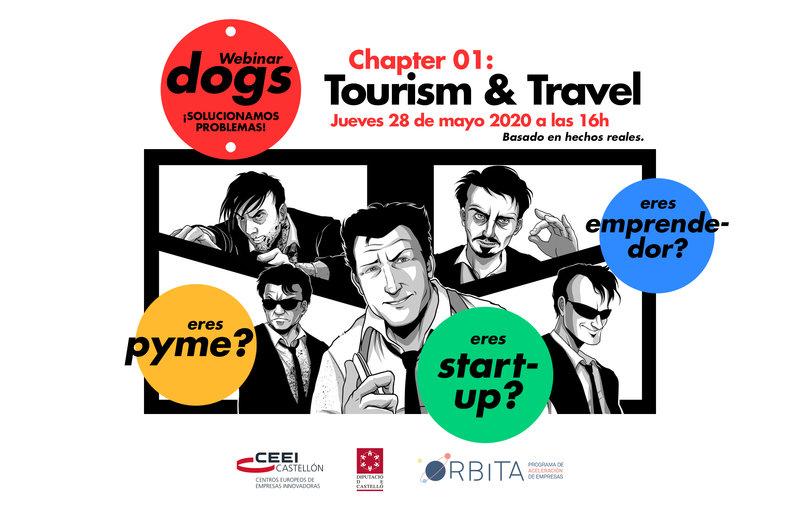 Recuerda! Llega Webinar dogs Chapter 1: Tourism & Travel-jueves 28 de mayo