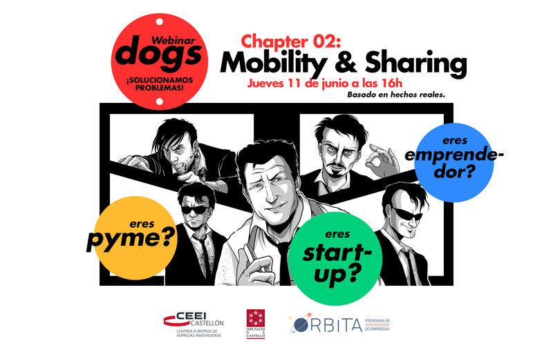 Recordatorio Invitación Webinar Dogs: Chapter 2, Mobility & Sharing