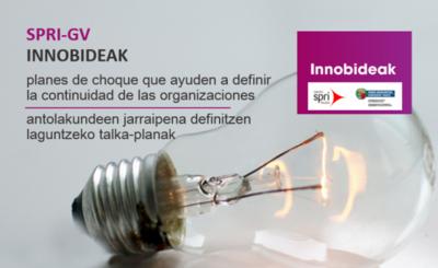 Apertura de la convocatoria de ayudas al Programa INNOBIDEAK (Grupo SPRI)