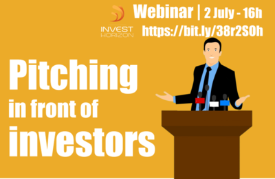 Webinar Pitching in front of investors