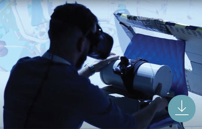 Aplicación de impresión 3d gran formato BigRep a la formación aeroespacial. Ebook