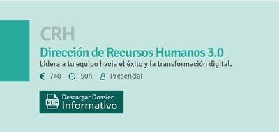 Cartel Curso Dirección RRHH 3.0