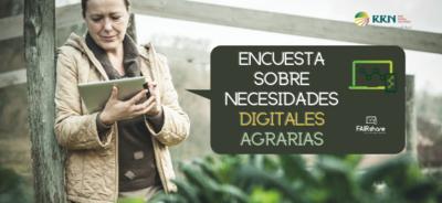 La UE pone a disposición de agricultores y asesores agrarios una encuesta para conocer las necesidades digitales del medio rural