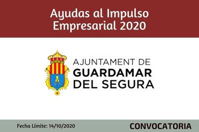 Ayudas al impulso Empresarial 2020 del Ayuntamiento de Guardamar del Segura