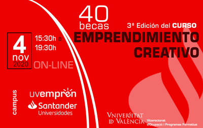 3ª edición del curso de emprendimiento creativo
