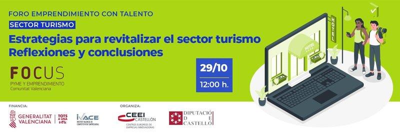 Invitación: Estrategias para revitalizar o para resetear el sector turístico.