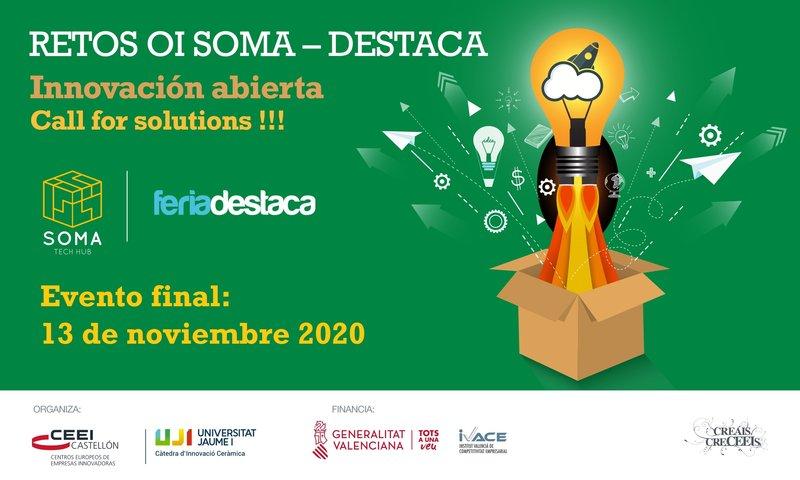 Invitación: EVENTO FINAL Retos OI SOMA- Feria destaca