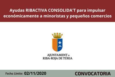 Programa RIBACTIVA CONSOLIDA'T 2020