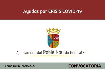 Ayudas Ayuntamiento del Poble Nou de Benitatxell por la Crisis del Covid 19