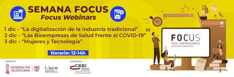 Invitación Semana Focus Pyme y Emprendimiento CV