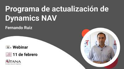 Webinar Programa de actualización de Dynamics NAV a Business Central