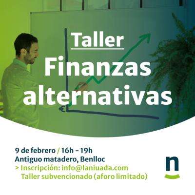 Taller financiación alternativa