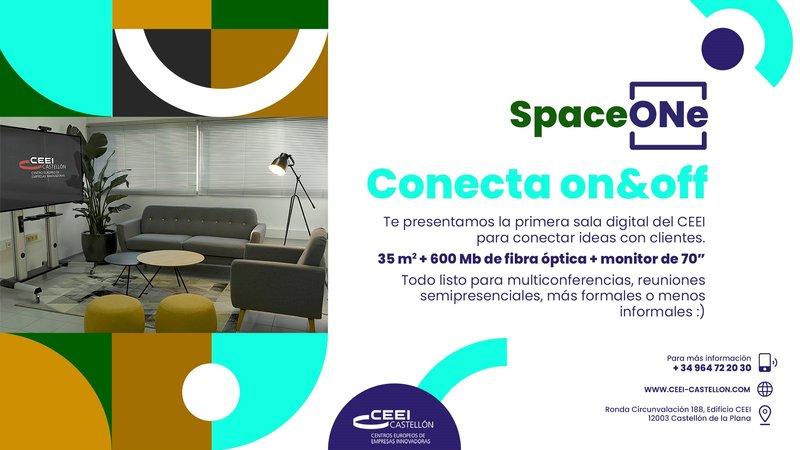 Te presentamos una nueva sala: Space ONe