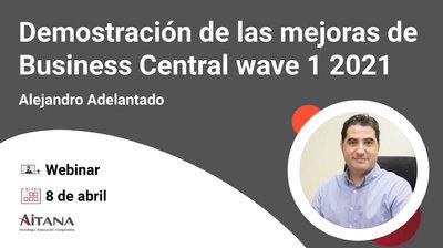 Demostración de las nuevas funcionalidades de Business Central · Abril (wave 1 2021)