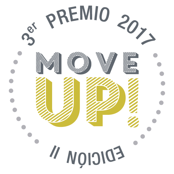 sello 2ª premio 2017 move up