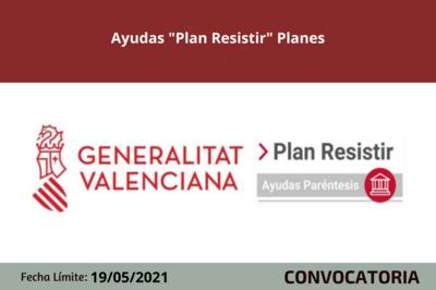 "Ayudas ""Plan Resistir"" Planes"