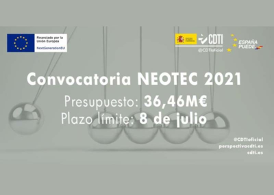 Programa de ayudas NEOTEC 2021